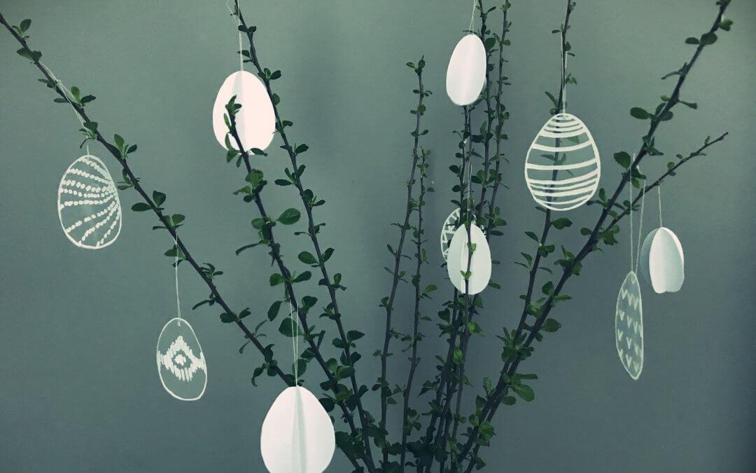 Závěsné velikonoční ozdoby