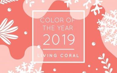 Korálová – barva roku