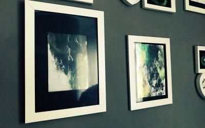 Abstraktní obraz 1-2-3